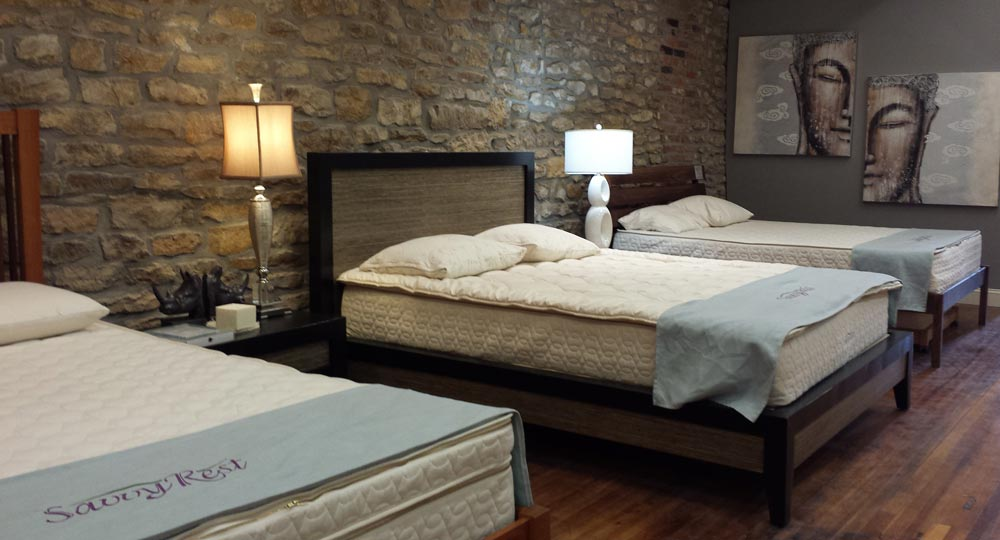 Natural and Organic Mattresses from Manufacturers such as SavvyRest
